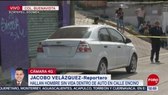 Encuentran un cadáver en la colonia Buenavista, Ecatepec
