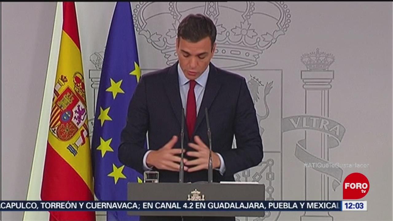 Pedro Sánchez Anuncia Levantar El Veto Al Brexit Presidente De España, Pedro Sánchez Acuerdo Con Europa Por Gibraltar Brexit Veto Al Brexit