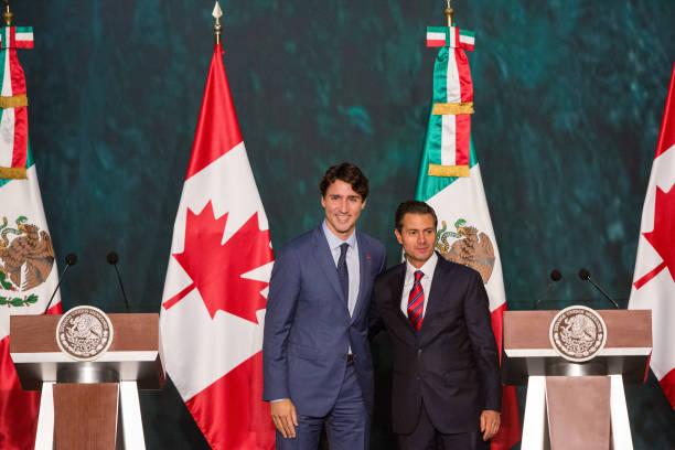 Peña Nieto y Justin Trudeau conversan sobre firma de T-Mec
