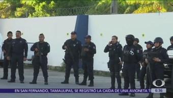 Policía Estatal toma control de la Secretaría de Seguridad de Cancún