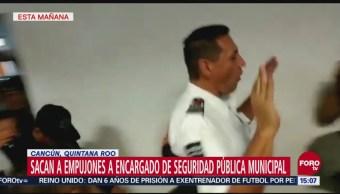 Policías protestan en Cancún, Quintana Roo