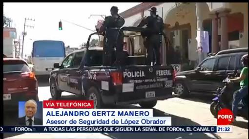 Políticas Sociales Ayudarán Restaurar Paz México Gertz Manero