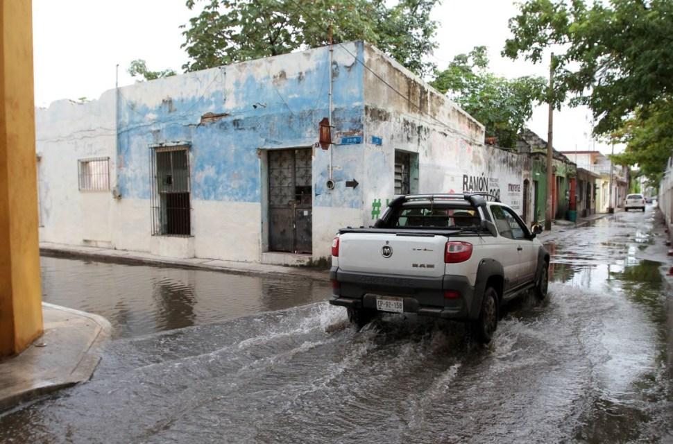 Por frío y lluvias suspenden clases en Campeche.