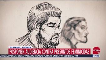 Posponen audiencia contra el Monstruo de Ecatepec