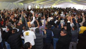 Congreso del PRD elimina más de la mitad de sus estatutos