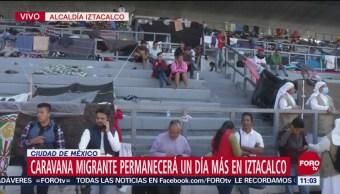 Primera caravana migrante se fragmenta en CDMX, unos van a Tijuana