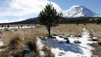 Pronostican posibles heladas en el norte y centro de México