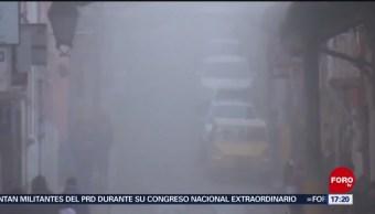 Puebla emite alerta por bajas temperaturas
