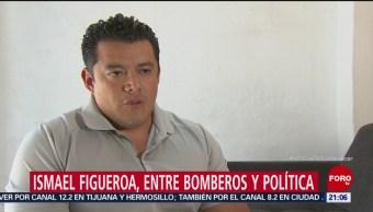 Quién es Ismael Figueroa Líder Bomberos CDMX