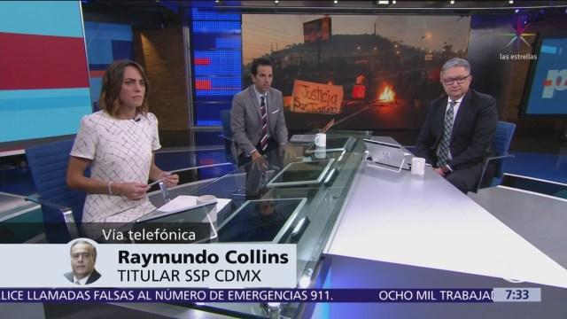 Raymundo Collins: No voy a renunciar por bloqueo en San Juanico