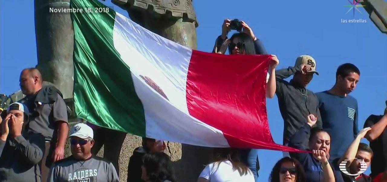 Realizan Movilizaciones Tijuana Favor Contra Migrantes