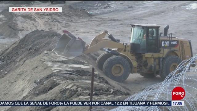 Refuerzan seguridad en la frontera de Tijuana