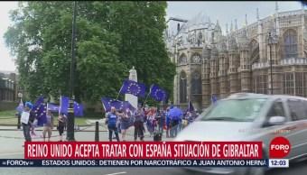 Reino Unido Discutir Con España Sobre Gibraltar Reino Unido Gobierno Británico