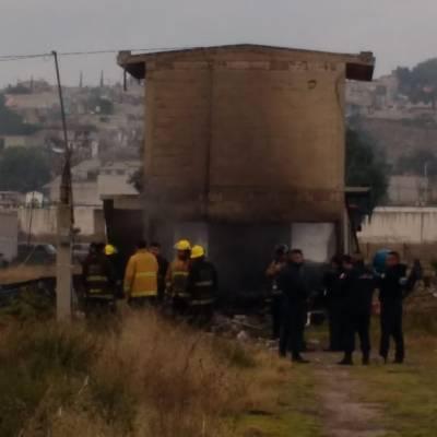 Explosión de polvorín deja dos heridos en Tultepec, Edomex