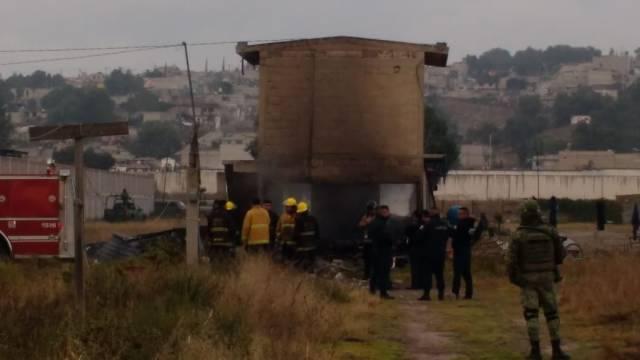 Reportan explosiones de polvorines en Tultepec
