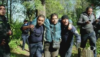 Rescatan Hombre Perdido Tres Días Los Dinamos