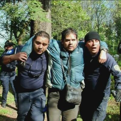 Rescatan a hombre perdido tres días en Los Dinamos