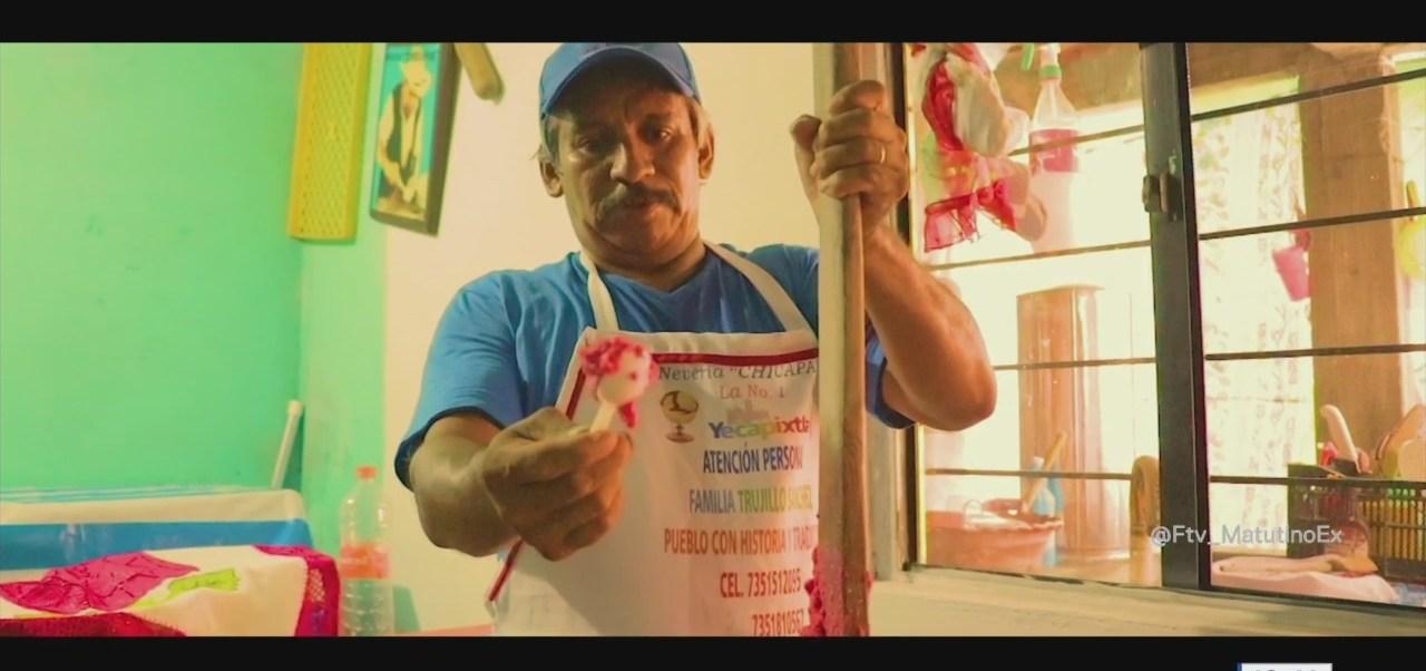 Retratos de México: El trabajo de un heladero artesanal