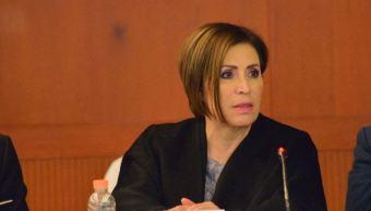Rosario Robles asegura se va tranquila de la Sedatu