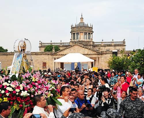 Romería de Zapopan es declarada Patrimonio Inmaterial
