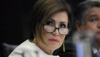 Así fue la comparecencia de Rosario Robles en el Senado