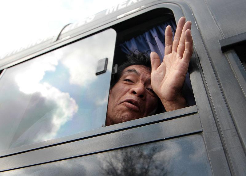 caravana migrante ciudad mexico queretaro estados