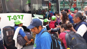 caravana migrante guanajuato jalisco aguascalientes