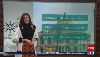 El Clima de Sábados de Foro con Daniela Álvarez