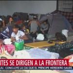 Sale segunda caravana de migrantes de Querétaro