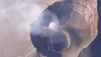 Se forma nuevo domo en el Popocatépetl, informa el Cenapred