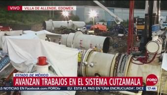 Se mantiene fecha de conclusión de mantenimiento del Cutzamala