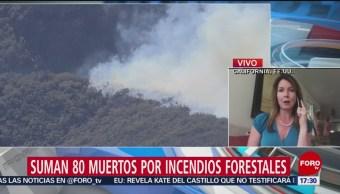 Incendios Forestales En California Aumentan Los Muertos