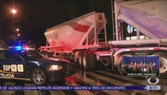 Se registran tres accidentes vehiculares en la CDMX