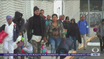 Segunda caravana migrante avanza hacia la CDMX