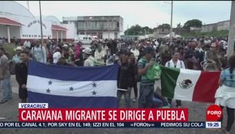 Segunda caravana migrante llegará este domingo a Puebla
