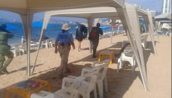 Seguridad Acapulco; refuerzan seguridad fin semana largo