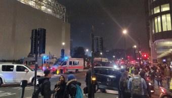 Cierran plaza del Parlamento británico por paquete sospechos