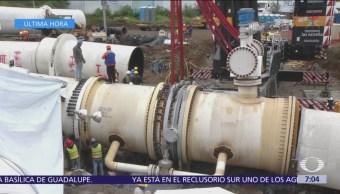 Sistema Cutzamala detecta falla y suspende bombeo de agua a Valle de México