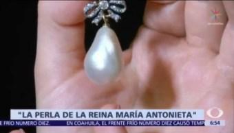 Subastan la perla de la reina María Antonieta