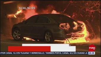 Suman Nueve Muertos Incendios Forestales California