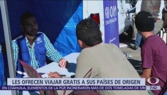 Tijuana activa programa de repatriación para migrantes centroamericanos