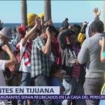 Tijuana calcula concentración de 10 mil migrantes centroamericanos