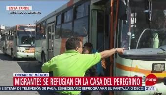Trasladan Migrantes Casa Peregrino En Cdmx