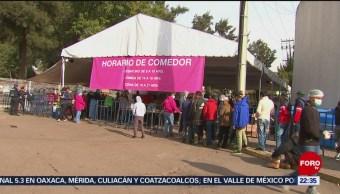 Trasladarán a cientos de migrantes a la Casa del Peregrino