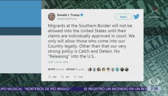 Trump advierte que cerrará frontera con México permanentemente si es necesario