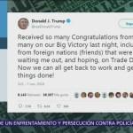 Trump afirma que las elecciones intermedias fueron su 'gran victoria'