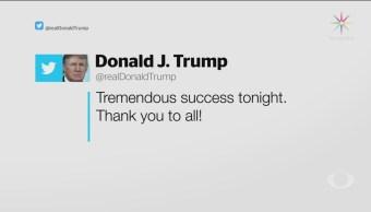 Trump Destaca Tremendo Éxito Elecciones Intermedias
