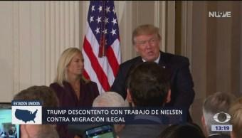 Trump podría pedir la renuncia a Nielsen