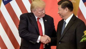 trump y presidente de china hablan comercio