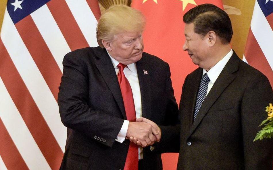 trump y presidente de china hablan comercio